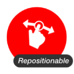 Repositionable