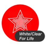 White/Clear for Life