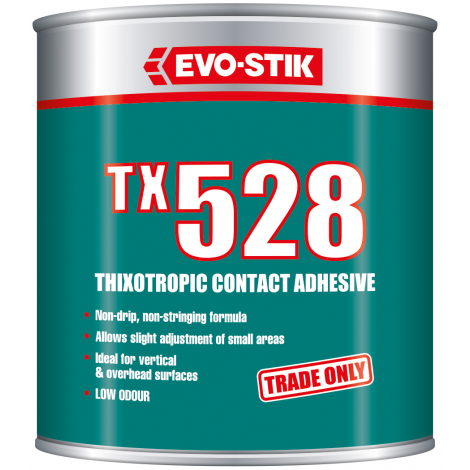 TX528 thixotropic contact adhesive