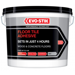 Floor Tile Adhesive Fast Set for Wood and Concrete Floors