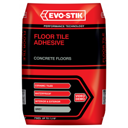 Powdered Floor Tile Adhesives Evo Stik Trade Website