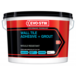 Wall tile adhesive and grout mould resistant